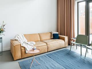 Scandinavian style living room by Nugter Architectuur Scandinavian