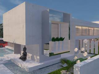 Casa la Dehesa: Chalets de estilo  por CB Luxus Inmobilien