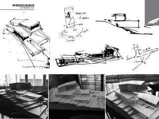 Vivienda FF: Pisos de estilo  por síncresis arquitectos
