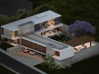 CASA LAGOS de Atelier Uno Moderno