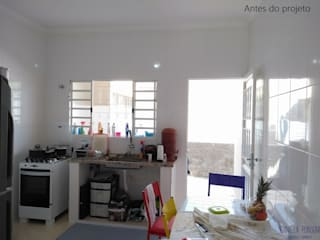 Antes e depois de uma cozinha por Daniela Ponsoni Arquitetura
