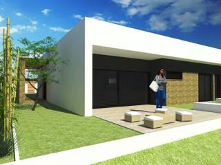 RT Arquitetos의  일세대용 주택