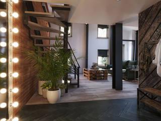 : Лестницы в . Автор – Loft&Home