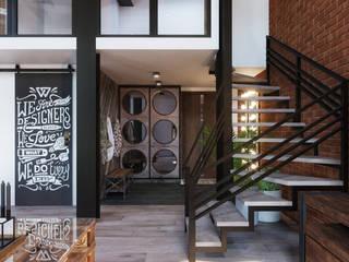 ЖК LOFT8, 123M2: Лестницы в . Автор – Loft&Home