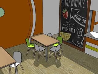Escuela : Comedores de estilo  por Fire Design AR,