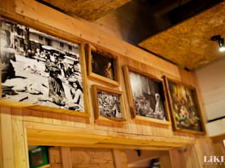Pasar Cisangkuy (Details):  Restoran by Likha Interior