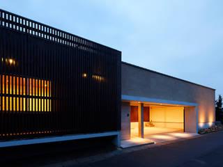 丹羽郡K邸 二世帯住宅 日本家屋・アジアの家 の 空間工房 用舎行蔵 一級建築士事務所 和風