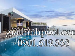 Tư vấn thiết kế hồ bơi trên sân thượng:   by CONGTYGIATHINHPOOL