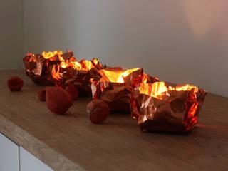 Kupfer-Kerzenhalter Meteorit K: modern  von 2488 Leuchten,Modern