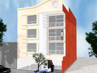 Edificio - Patricio Sanz:  de estilo  por D&E-ARQUITECTURA