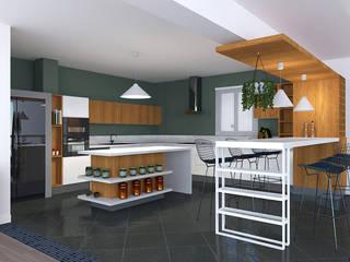 Bider Mimarlık İnşaat Ltd. Şti. – Mutfak Projesi:  tarz