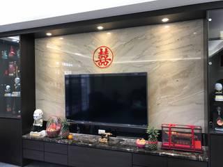 自地自建:  客廳 by 寶樹堂營造工程