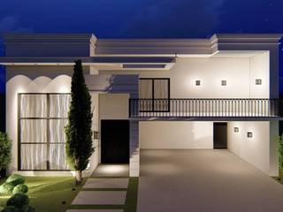 6fc00543d Fachada Residencial - São José do Rio Preto SP  por Daiane Paulino  Arquitetura e Interiores