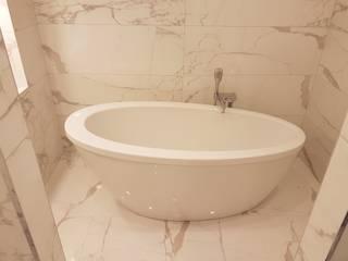 Bodrum Uygulama / DALKILIÇ İç Mimarlık – Villa Projesi:  tarz Banyo