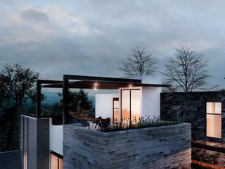 Residencia RL [León, Gto.] 3C Arquitectos S.A. de C.V. Casas unifamiliares Concreto reforzado Gris