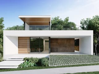 Single family home by Martins Lucena Arquitetos