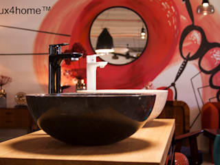 Marble wash basins - Round marble sinks: scandinavian Yachts & jets by Lux4home™ Indonesia