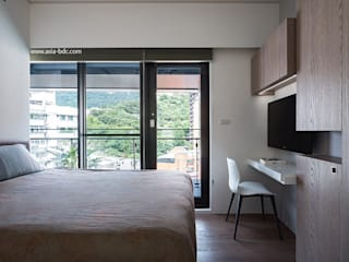 Jimmy line Modern Bedroom by Taipei Base Design Center Modern