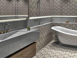 Classic style bathroom by Renata Monteiro Arquitetura e Interiores Classic