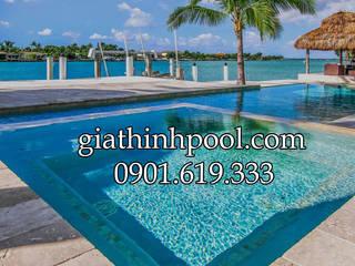 Tư vấn thiết kế hồ bơi kinh doanh:  de estilo  por GIATHINHPOOLVN