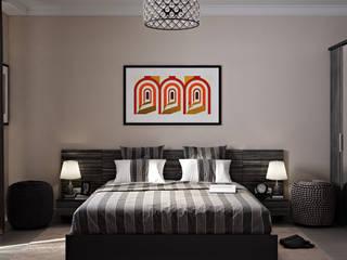 Спальня в современном стиле: Спальни в . Автор – Аврора