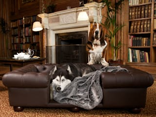 Balmoral Large in Chestnut faux leather:   by Scott's of london