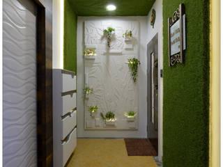 Flat Interior Design of Mr. Manish Wadia Modern corridor, hallway & stairs by KAM'S DESIGNER ZONE Modern