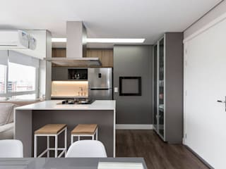 Rabisco Arquitetura Unit dapur Kayu Grey