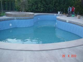 Sıdar Pool&Dome Yüzme Havuzları ve Şişme Kapamalar – LINER ile havuz tadilatı:  tarz
