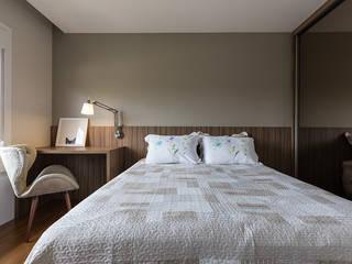 Rabisco Arquitetura Kamar Tidur Modern MDF Wood effect