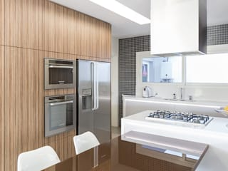 Rabisco Arquitetura Kitchen MDF Wood effect