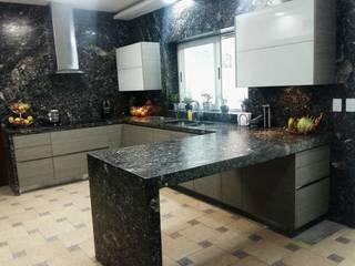 Küchenzeile von Athalia cocinas y Carpinteria