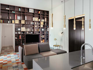manuarino architettura design comunicazione Living roomTV stands & cabinets