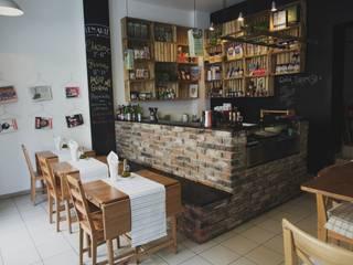 Pizzeria LEN ARTE: styl , w kategorii Gastronomia zaprojektowany przez Moble.