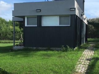 Casa Caleta 1: Casas ecológicas de estilo  por JeremíasMartínezArquitecto