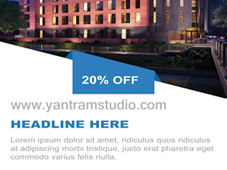 Real Estate Brochure Services By Yantram website development - San Diego, USA Klasik Klinikler Yantram Architectural Design Studio Klasik