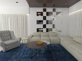 Residence Interiors:  Dining room by URBAIN DEZIN STUDIO