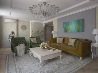 Phòng khách phong cách thực dân bởi Alt дизайн Thực dân