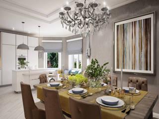 Nhà bếp phong cách tối giản bởi Alt дизайн Tối giản