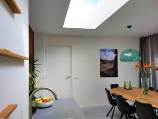Uitbreiding woning Breda Moderne eetkamers van Bolier Ontwerp & Bouwregie Modern