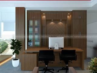 Thiết kế thi công nội thất văn phòng Công ty TNHH thiết bị Nhật Quang:   by Công Ty TNHH Xây Dựng & Nội Thất ECO Việt Nam