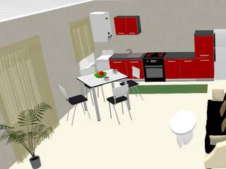 Apartamento PlanningWiz Cozinhas embutidas