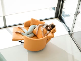 Fama Moonrise Armchair:   by IQ Furniture