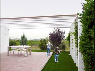 Jardins modernos por DosiCreatius Moderno