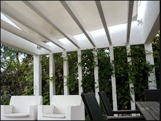 Balcon, Veranda & Terrasse modernes par DosiCreatius Moderne