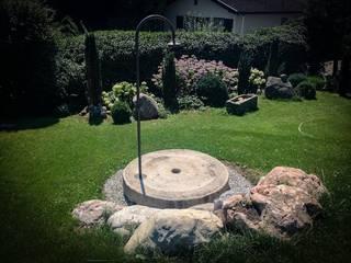 Gartendusche Steiner Naturstein Ausgefallener Garten