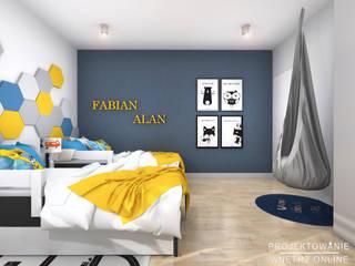 Pokój dziecięcy: styl , w kategorii Pokój dziecięcy zaprojektowany przez Projektowanie Wnętrz Online