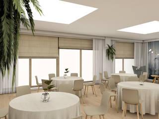 Sala bankietowa : styl , w kategorii  zaprojektowany przez i5studio