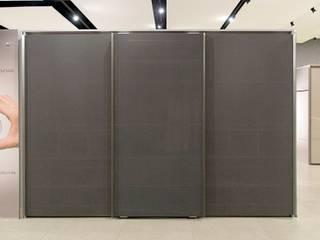 Studio Cicconi Ruang Ganti Modern MDF Grey