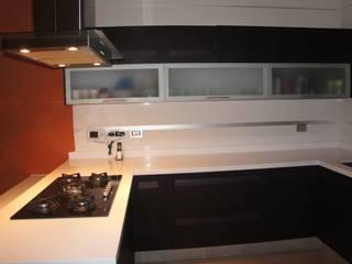COCINA IBIZA ORIGINALE CUCINE E ARMADI Cocinas modernas Compuestos de madera y plástico